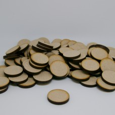 MDF Circle Round 2cm/20mm x 3mm - Laser cut wooden shape