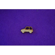MDF Car A 2cm/20mm x 3mm - Laser cut wooden shape