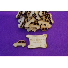 MDF Car A 3cm/30mm x 3mm - Laser cut wooden shape