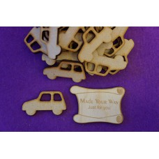 MDF Car A 4cm/40mm x 3mm - Laser cut wooden shape