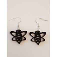 Bumble Bee Earrings - Acrylic