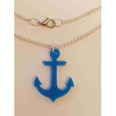 Anchor Necklace - Acrylic