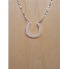 Horseshoe Necklace - Acrylic