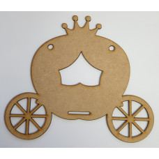 Princess Carriage Bow Holder