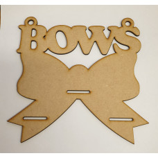 Bow shaped Bow Holder